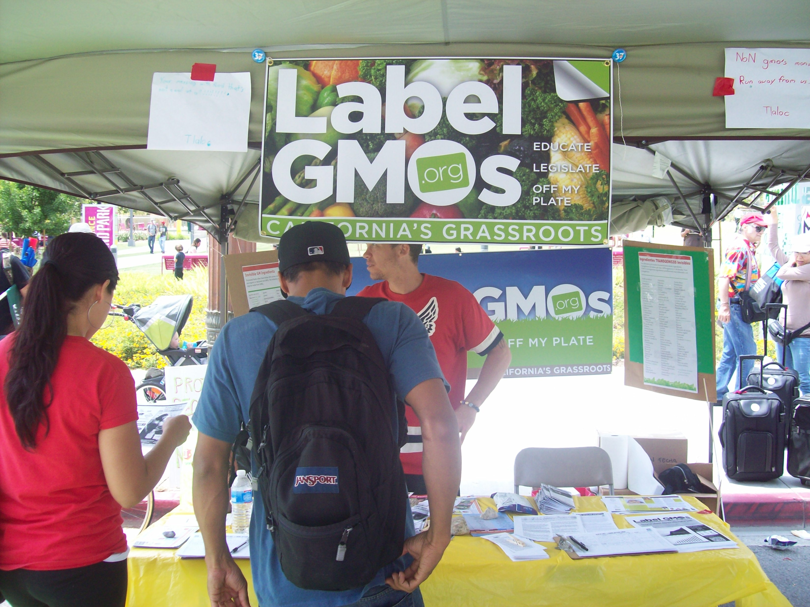 Label GMOs Booth
