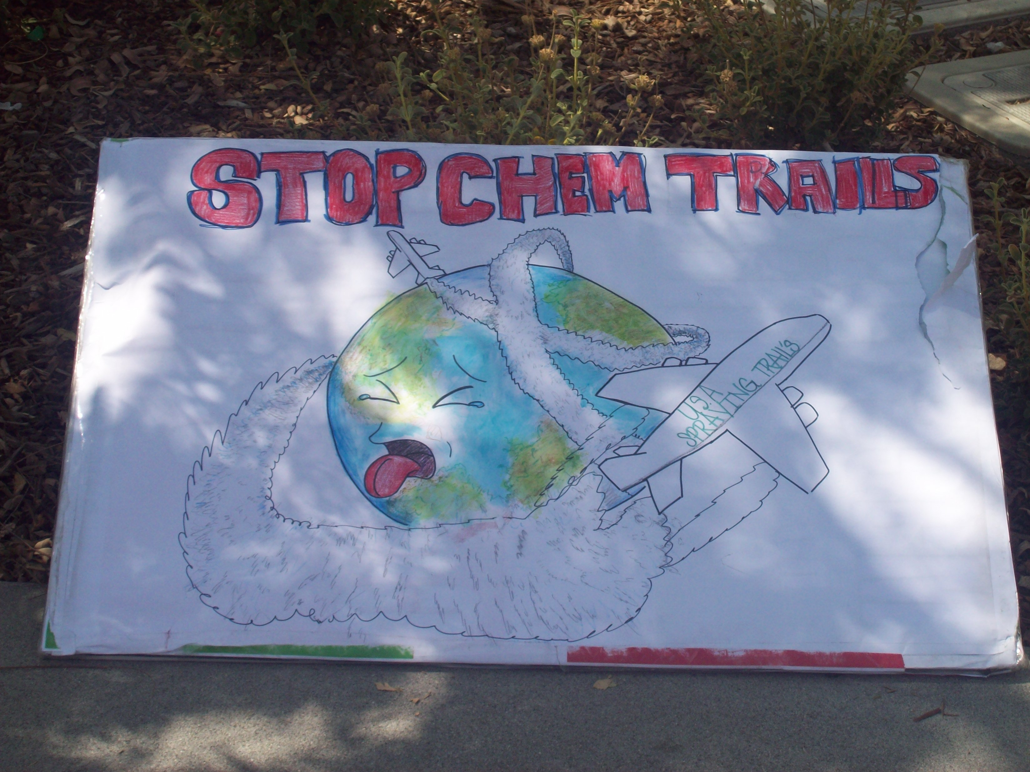 Stop Chem Trails Sign
