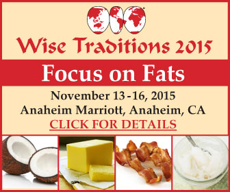 Wise Traditions 2015